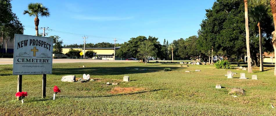 Cemetery Cleanup Project in North Fort Myers, FL